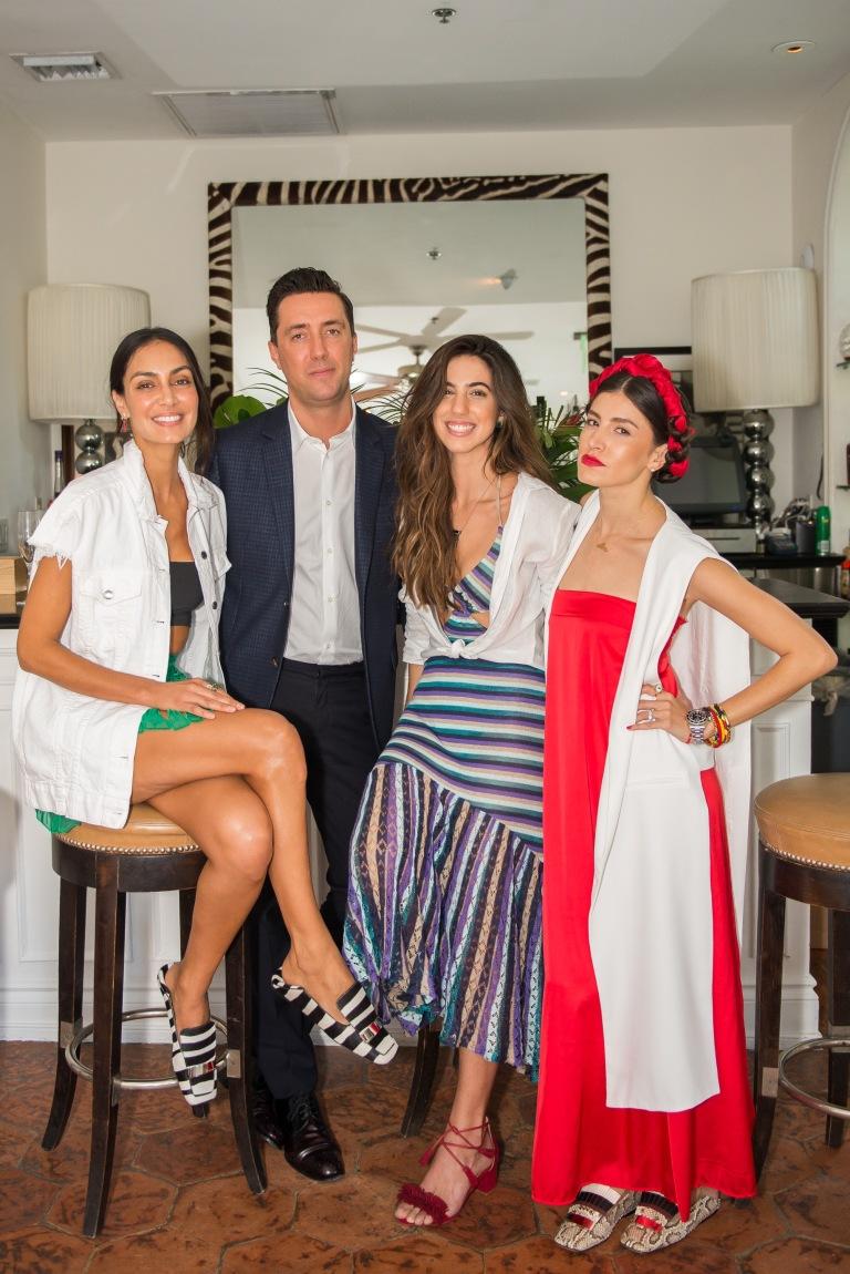 Jenny Lopez, Marco Felci, Danie Gomez Ortigoza /Photo by Chris Carter